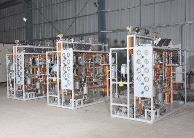 Fully Automatic Reactor Unit for Evaluation of Hydro processing Catalyst