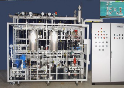 Hydro processing Pilot Plant