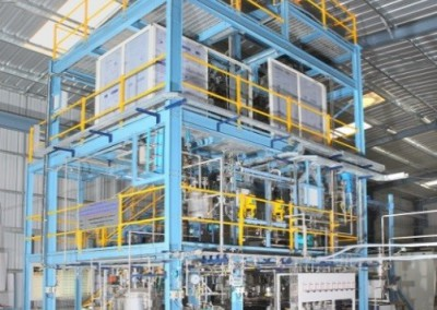 Integrated Facility for Conversion of Lignocellulosic Biomass to Ethanol