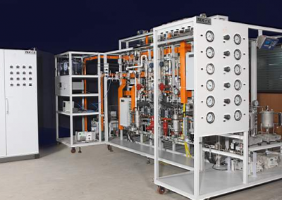Sorption Enhanced Steam Reforming Bench Scale Unit
