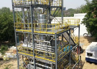 Syngas Cleaning Pilot Plant